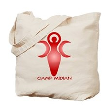 Red Moon Goddess Tote Bag
