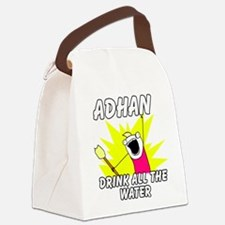 Eid Canvas Lunch Bag