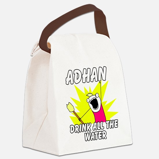 Cool Ramadan Canvas Lunch Bag