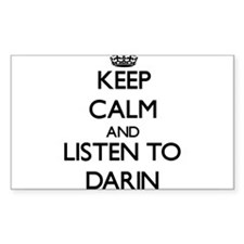 Keep Calm and Listen to Darin Decal