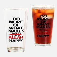 Funny Ramadan Drinking Glass