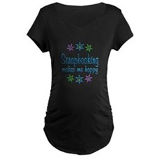 Scrapbooking Happy T-Shirt