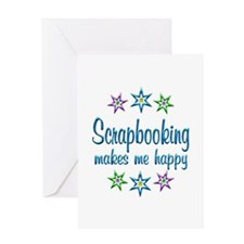 Scrapbooking Happy Greeting Card