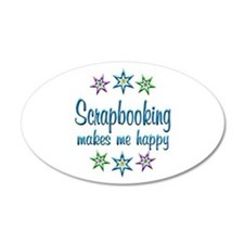 Scrapbooking Happy Wall Decal