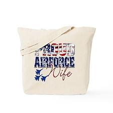 ProudAirForceWife Tote Bag