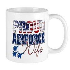 ProudAirForceWife Mugs
