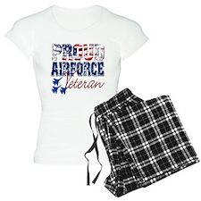 ProudAirForceVeteran Pajamas