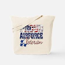 ProudAirForceVeteran Tote Bag