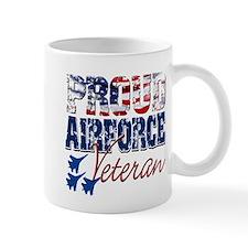 ProudAirForceVeteran Mugs