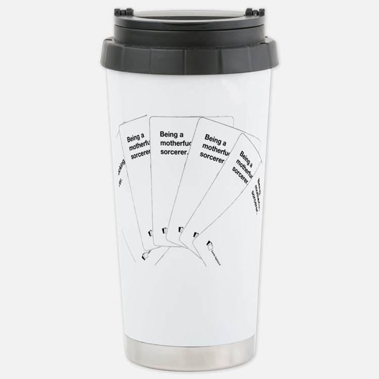 Being a motherfuc_ing sorcerer Travel Mug