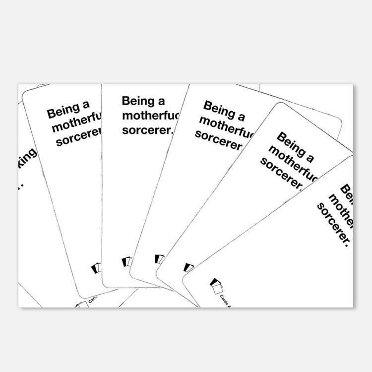 Being a motherfuc_ing sorcerer Postcards (Package