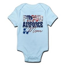 ProudAirForceMom Body Suit