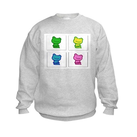 Ribbit! Ribbit! Kids Sweatshirt