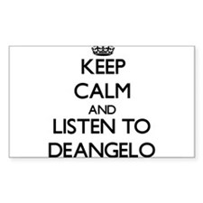 Keep Calm and Listen to Deangelo Decal