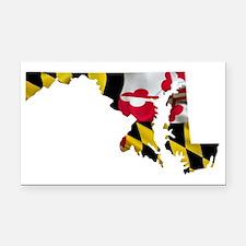 Unique Maryland Rectangle Car Magnet
