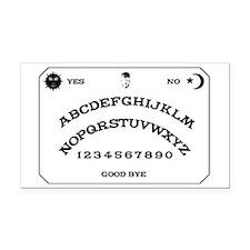 Ouija Board Rectangle Car Magnet