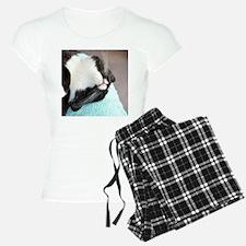 sleeping tuxedo cat Pajamas