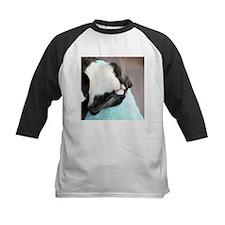 sleeping tuxedo cat Baseball Jersey