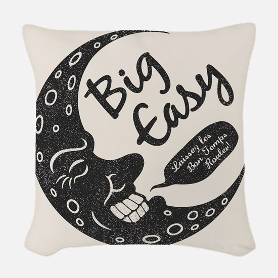 Big Easy Crescent Woven Throw Pillow