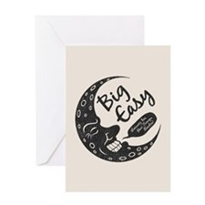 Big Easy Crescent Greeting Card