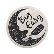 Big Easy Crescent Ornament (Round)