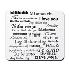 International I love you Mousepad