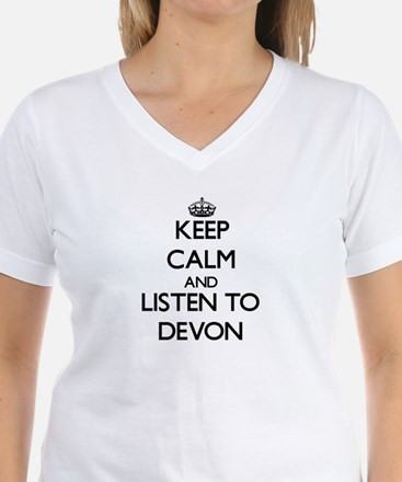 Keep Calm and Listen to Devon T-Shirt