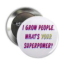 Superhero Mom Button