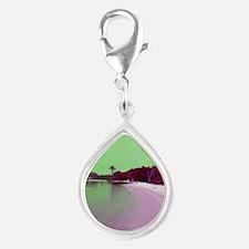Jupiter Florida beach cove green magenta Charms