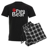 Papa bear Men's Dark Pajamas