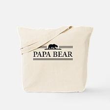 Papa Bear Tote Bag