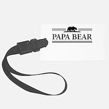 Papa Bear Luggage Tag