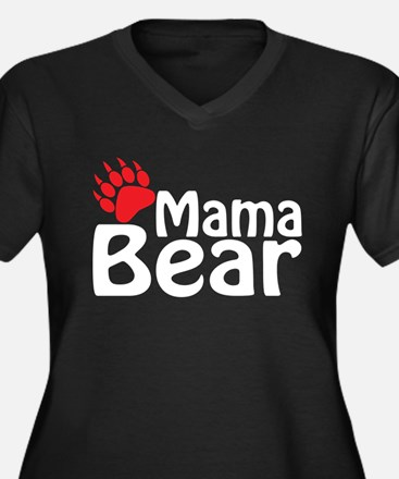 Mama Bear Plus Size T-Shirt