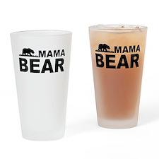 Mama Bear Drinking Glass