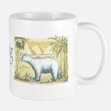 Polar Bear Earth Day Mug