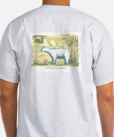 Polar Bear Earth Day T-Shirt