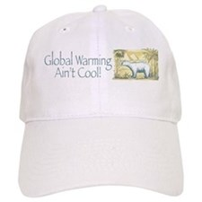 Polar Bear Earth Day Baseball Cap
