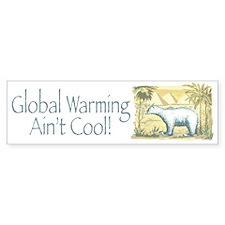 Polar Bear Earth Day Bumper Bumper Sticker