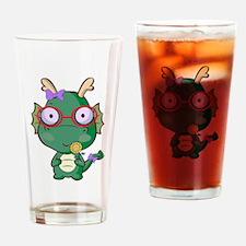 Cute Dragon Drinking Glass