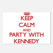 Keep calm and Party with Kennedy Postcards (Packag