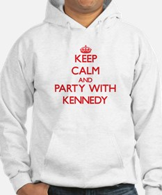 Keep calm and Party with Kennedy Hoodie