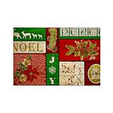 Christmas vintage joy peace noel 10 Pack