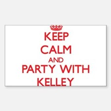 Keep calm and Party with Kelley Decal
