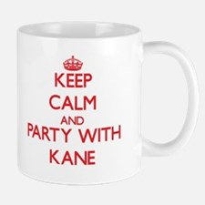Keep calm and Party with Kane Mugs