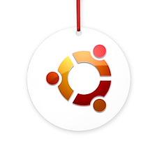 uBuntu  Round Ornament