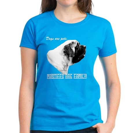 Mastiff Family Women's Dark T-Shirt