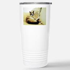 Sooner Lounging Travel Mug