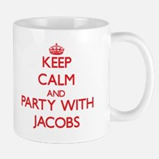 Keep calm and Party with Jacobs Mugs