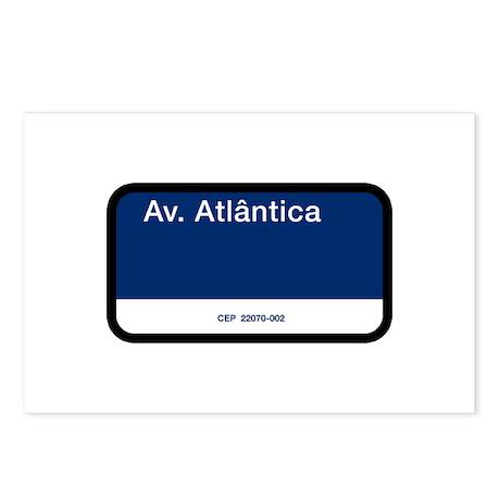 Avenida Atlantica, Rio de Janeiro (BR) Postcards (