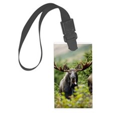 Moose in the Wild Luggage Tag